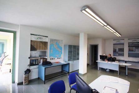 Gli uffici e il personale Comet